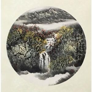 原东平国画作品《【清泉环溪流】作者原东平》价格21600.00元