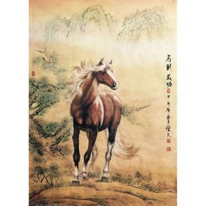 胡爱民国画作品《【花鸟5】作者胡爱民(可定制)》价格9600.00元