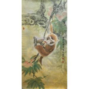 胡爱民国画作品《【花鸟4】作者胡爱民(可定制)》价格9600.00元