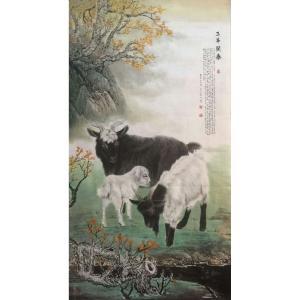 胡爱民国画作品《【花鸟3】作者胡爱民(可定制)》价格9600.00元