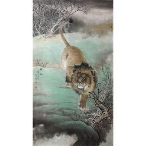 胡爱民国画作品《【花鸟2】作者胡爱民(可定制)》价格9600.00元