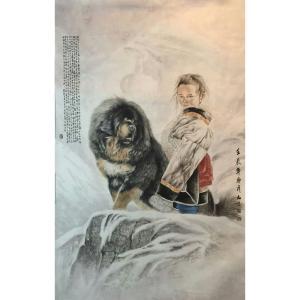 胡爱民国画作品《【花鸟1】作者胡爱民(可定制)》价格9600.00元