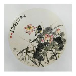 许伟明国画作品《【夏韵】作者许伟明》价格600.00元