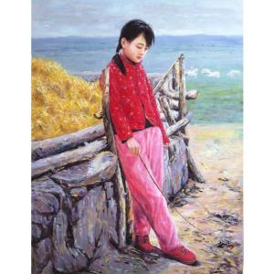凌振宁油画作品《【回忆】作者凌振宁》价格4800.00元