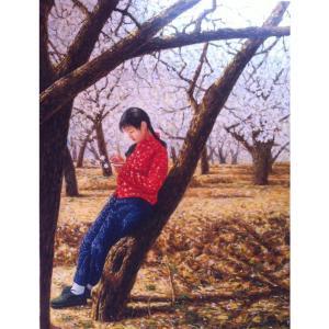 凌振宁油画作品《【踩景】作者凌振宁》价格4800.00元