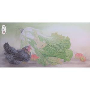 傅饶国画作品《【家园无忧】作者傅饶》价格12000.00元