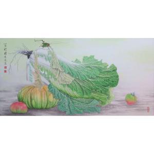 傅饶国画作品《【百财图4】作者傅饶》价格12000.00元