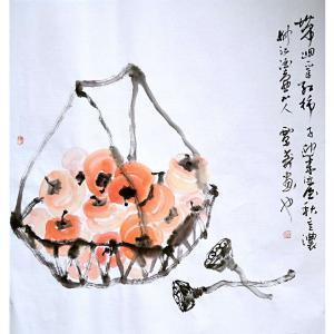 覃莽国画作品《【事事如意】作者覃莽》价格6240.00元
