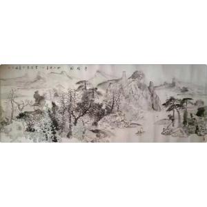 覃莽国画作品《【净境图】作者覃莽》价格14400.00元