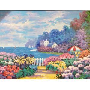 莫明标油画作品《【神秘花园】作者莫明标 临摹》价格720.00元