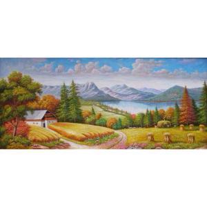 莫明标油画作品《【美好】作者莫明标 临摹》价格2066.00元