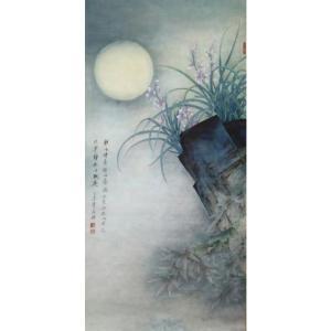 唐再辉国画作品《花鸟画-宁静致远》议价