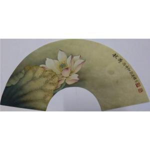 唐再辉国画作品《【秋荷】作者唐再辉》价格2400.00元