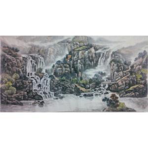 王功国画作品《【山水3】作者王功》价格480.00元