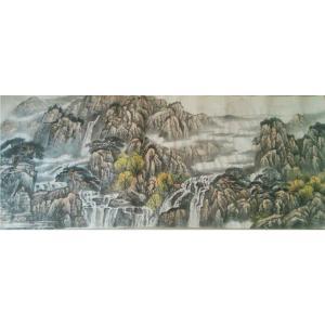 王功国画作品《【山水7】作者王功》价格480.00元