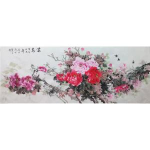 许金玉国画作品《【浓春】作者许金玉》价格720.00元