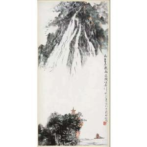 狄峰国画作品《【悬峰】作者狄峰》价格7200.00元