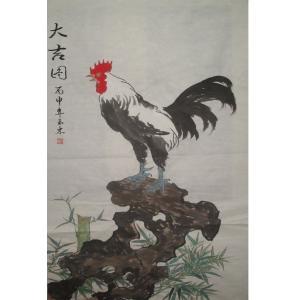 修玉东国画作品《【花鸟6】作者修玉东》价格912.00元