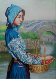 王冬寒油画作品《【农女】作者王冬寒》价格3600.00元