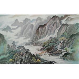 赵建乐国画作品《【春来农家】作者赵建乐》价格480.00元