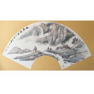 祝汉山国画作品《【山水4】作者祝汉山》价格240.00元