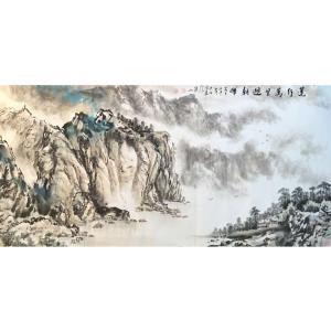 祝汉山国画作品《【山水7】作者祝汉山》价格960.00元