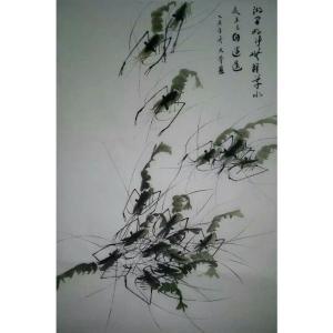 李大奎国画作品《【虫蚁】作者李大奎》价格480.00元