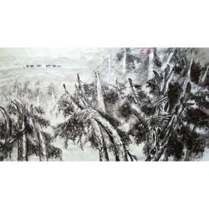 李沛泰国画作品《【行军图】作者李沛泰》价格2400.00元