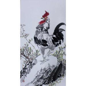 李沛泰国画作品《【金鸡1】作者李沛泰》价格1440.00元