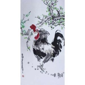 李沛泰国画作品《【金鸡2】作者李沛泰》价格1440.00元