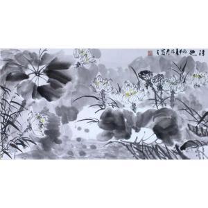 李沛泰国画作品《【莲花】作者李沛泰》价格1440.00元