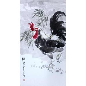 李沛泰国画作品《【金鸡3】作者李沛泰》价格700.00元