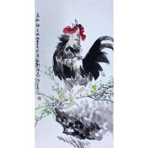 李沛泰国画作品《【金鸡4】作者李沛泰》价格700.00元