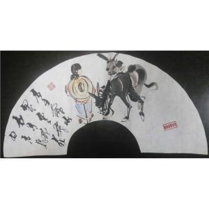 吴俊彬国画作品《【牧牛图6】作者吴俊彬》价格6720.00元