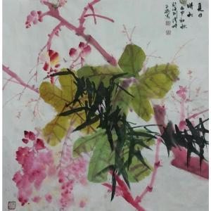 刘春香国画作品《【夏日晴和】作者刘春香》价格1200.00元
