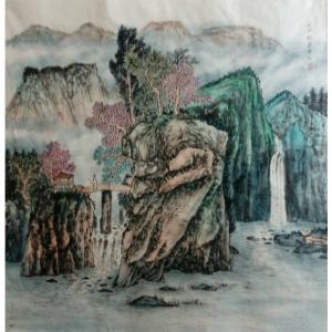 墨丹国画作品《【仙灵之境】作者墨丹》价格480.00元