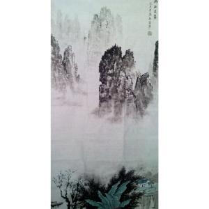 秦召勇国画作品《【满江..】作者秦召勇》价格960.00元