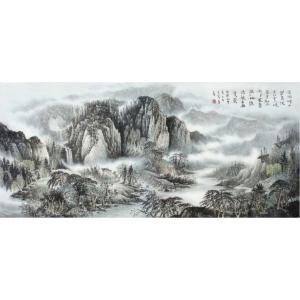 王洪祥国画作品《【山水4】作者王洪祥》价格14400.00元