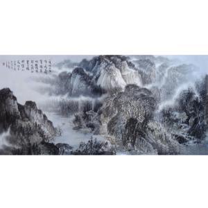王洪祥国画作品《【山水7】作者王洪祥》价格14400.00元