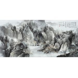 王洪祥国画作品《【山水8】作者王洪祥》价格14400.00元