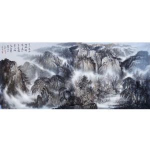 王洪祥国画作品《【山水9】作者王洪祥》价格14400.00元