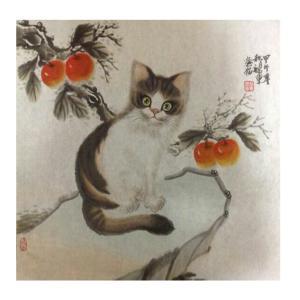 于福东国画作品《【小猫5】作者于福东》价格2400.00元