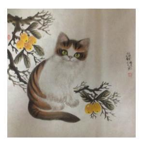 于福东国画作品《【小猫6】作者于福东》价格2400.00元