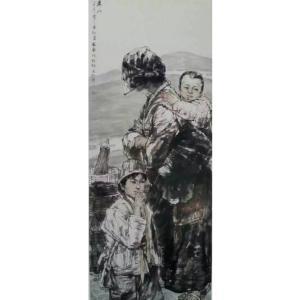 赵国毅国画作品《【人物4】作者赵国毅》价格96000.00元