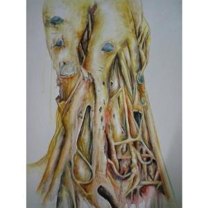 兰笑凤油画作品《【树】作者兰笑凤》价格6720.00元