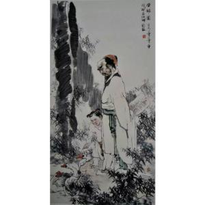 赵国毅国画作品《【人物7】作者赵国毅》价格96000.00元