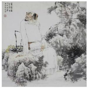 赵国毅国画作品《【人物8】作者赵国毅》价格48000.00元
