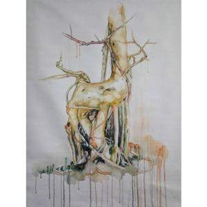 兰笑凤油画作品《【树源】作者兰笑凤》价格6720.00元