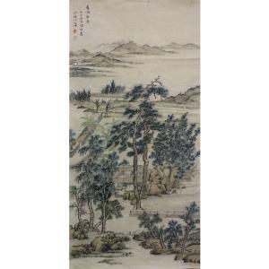 李儒信国画作品《【庐鸿草堂】作者李儒信》价格4800.00元