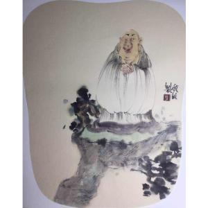彭航国画作品《【人物6】作者彭航》价格1440.00元